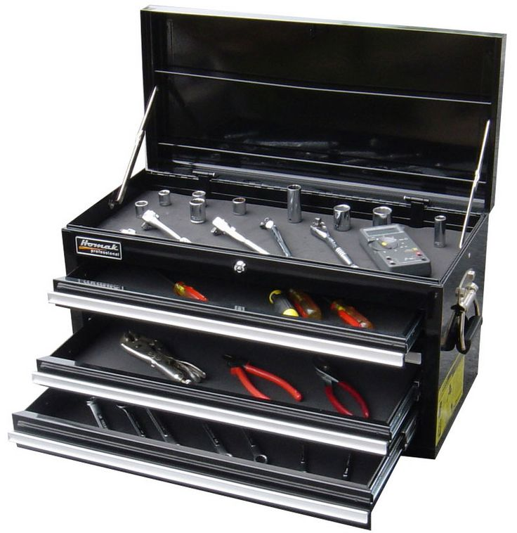 Toolbox for a specific job - car, truck, motorcycle, etc.