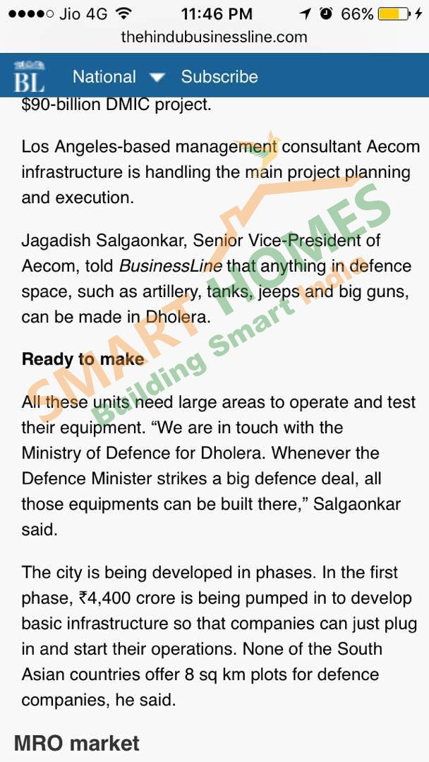 Tata Steel & Reliance Defence scouting #invester for *Dholera Industrial City