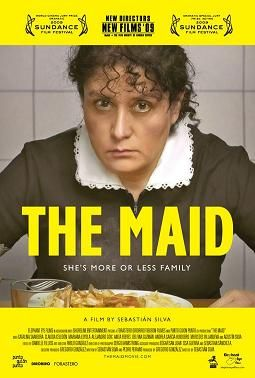The Maid (Sebastian Silva, 2009), a Chilean black comedy about a maid who, after a short illness, is provided with additional maids, provoking jealousy and resentment. Find this at 791.43783 MAI