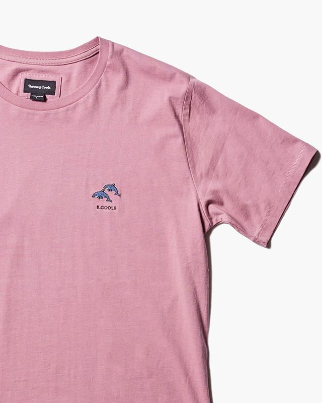 a8153f7b The Sea Life CapsuleJoin the pod in the brand new Dolphin Tee our regular  fit embroidered tee. Six new salt-water inspired styles just added online  shop the ...