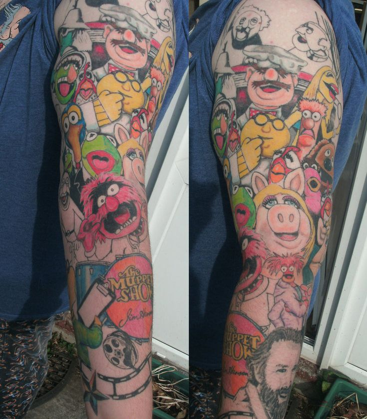 Pop Culture And Fashion Magic Small Tattoos Ideas: ...If I Ever Decided To Get A Sleeve Tattoo.
