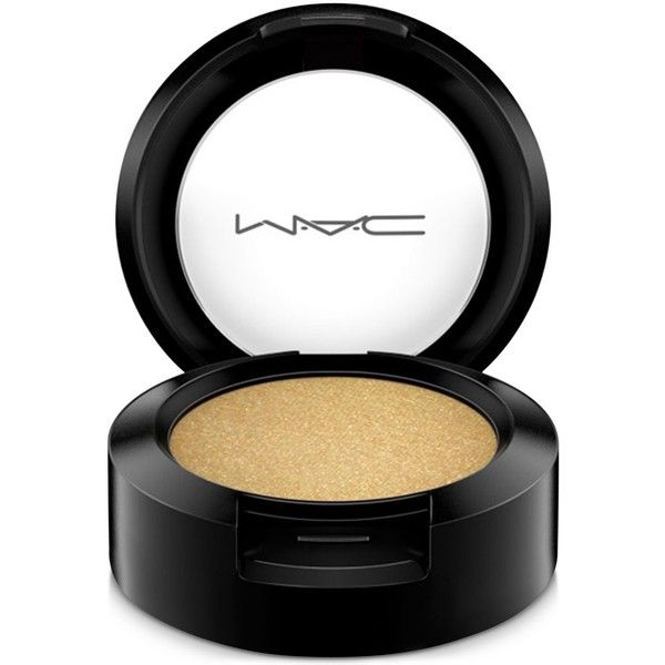 Mac Eye Shadow, 0.05 oz ($16) ❤ liked on Polyvore featuring beauty products, makeup, eye makeup, eyeshadow, cosmetics, glitter, gorgeous gold, mac cosmetics and mac cosmetics eyeshadow