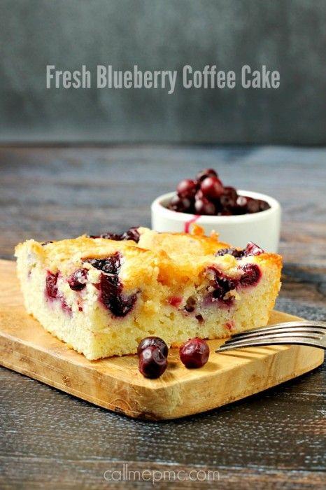 Fresh Blueberry Coffee Cake Recipe Dishmaps
