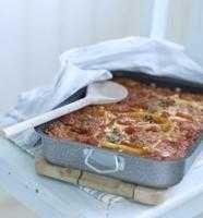 Lasagne med kassler och squash - Recept - Tasteline.com