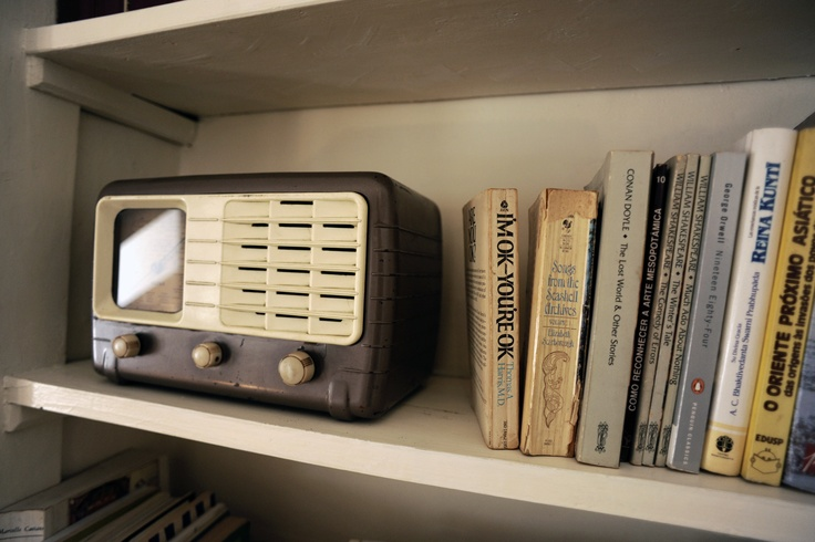And the vintage radio number two. We know Luis, as a musician you love music, right?!