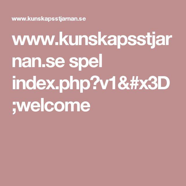 www.kunskapsstjarnan.se spel index.php?v1=welcome