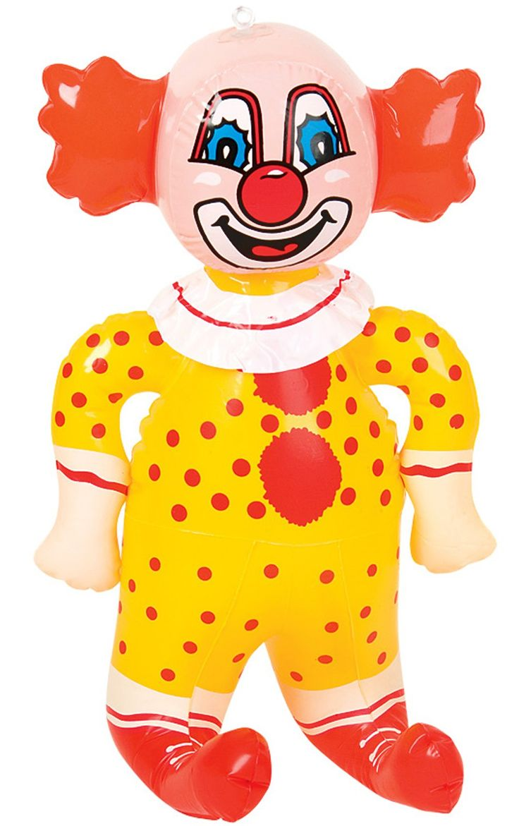 69 best inflatable toys and party supplies images on for Clown dekoration