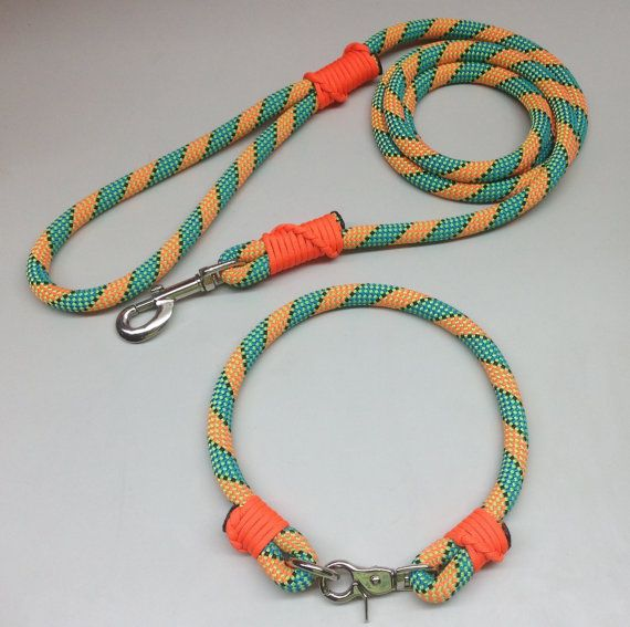 (DIY?) Climbing rope dog leash 550 paracord whipped by TurtleBoyCreations