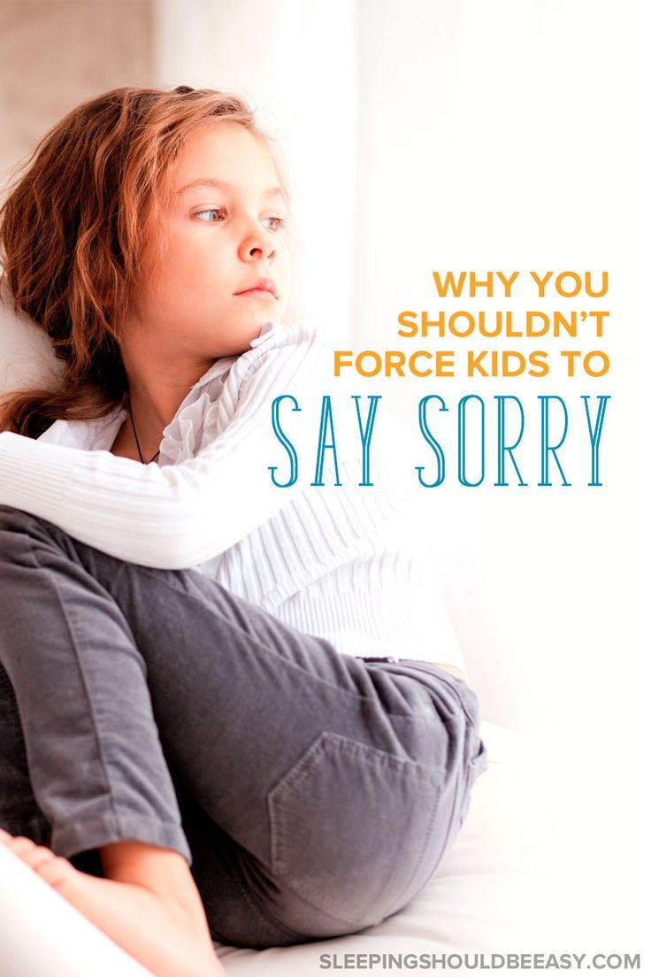 Forced apologies—even if done with good intentions—may not always be the best idea. Here's why you shouldn't force your child to say sorry.