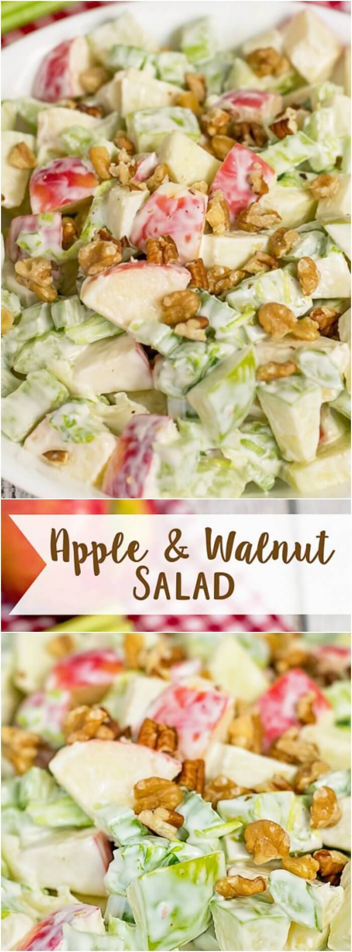Apple and Walnut Salad Long Pin