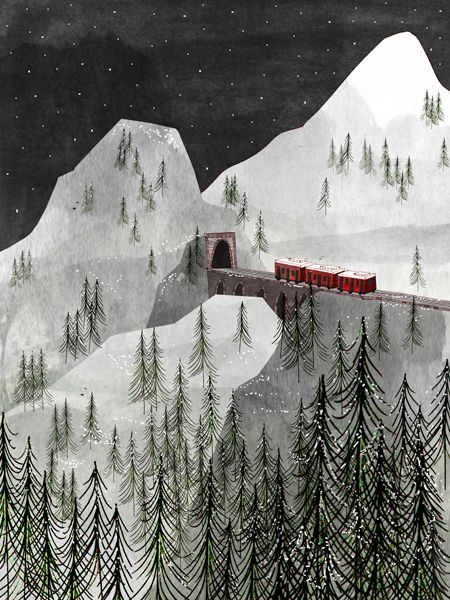 Josie Portillo - Zermatt - portilloillustration.com