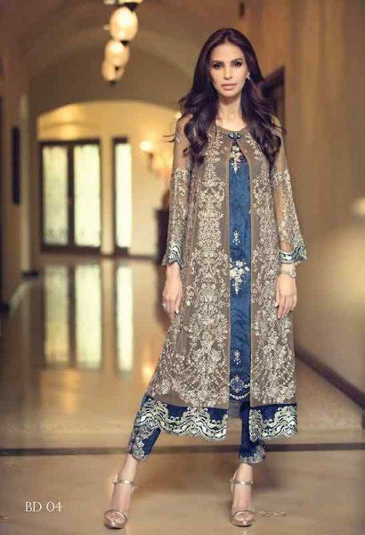 Women Fall Dresses Collection 2015 by Designer Maria B