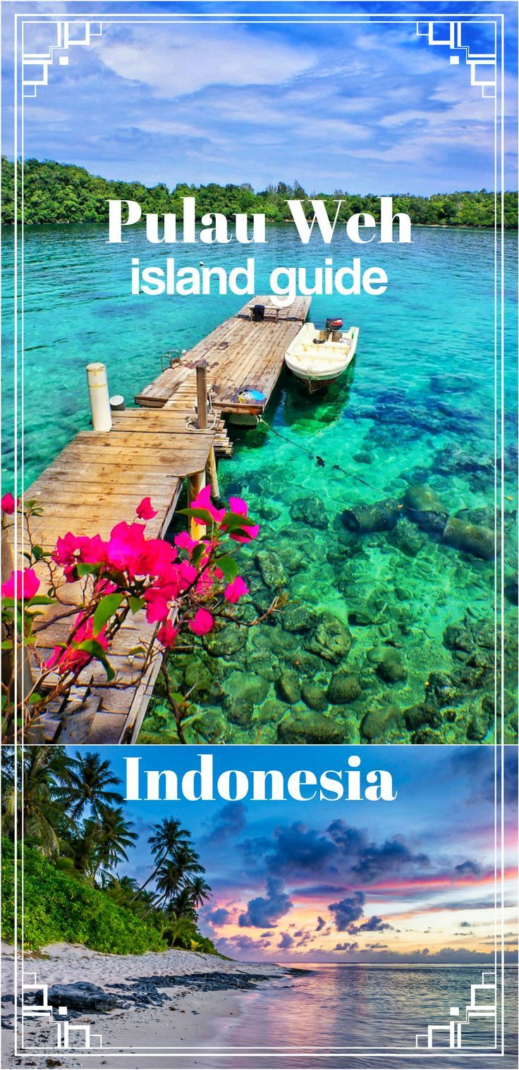 Complete guide to Pulau Weh island (Northern Sumatra), off the beaten track in Indonesia. How to get by public transport, budget accommodation, local food places, dive shops, motorbike rental etc.
