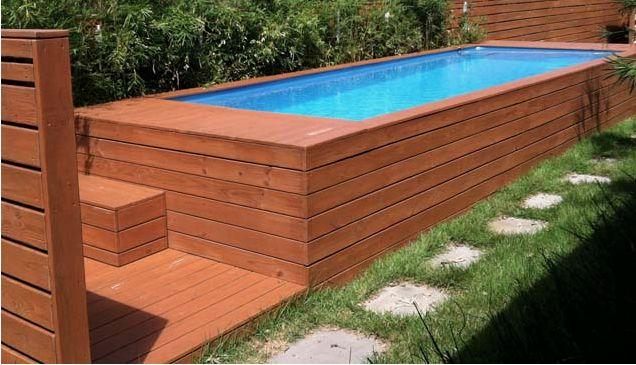 9 manieren om plaats te maken voor een zwembad in de tuin - Roomed | roomed.nl