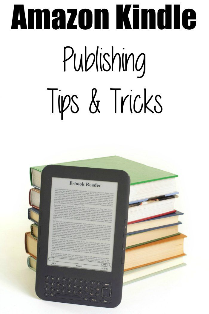 Amazon Kindle Publishing Tips and Tricks. Re-pinned by Spineless Design - Bespoke eBook cover design service - http://www.spinelessdesign.co.uk