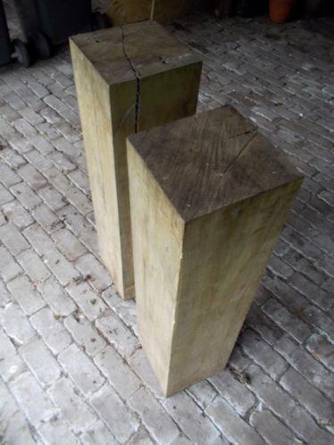 houten zuil