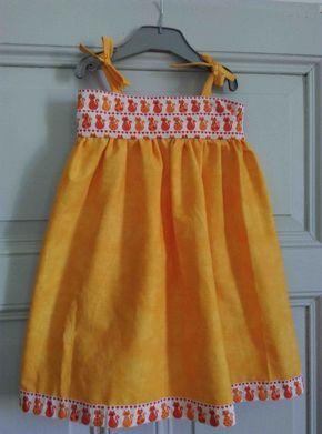 Voici un tuto super simple : robe petite fille pour débutantes adaptable, et déclinable (petit cours de couture débutante inclus) - Amie'Lie