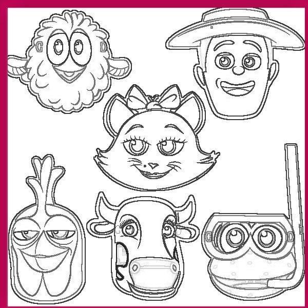 La Granja De Zenon Dibujos Para Colorear La Granja De Zenon