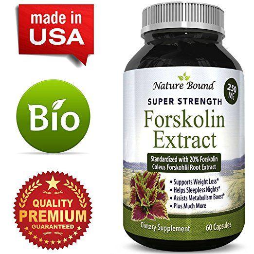 best forskolin weight loss supplement for men & women - coleus