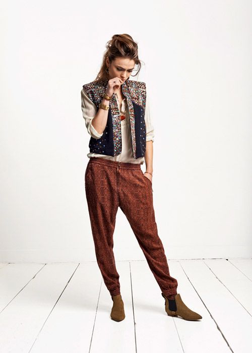 Maison Scotch Collection - Lookbook | Scotch & Soda ermergerd pirate pants!!