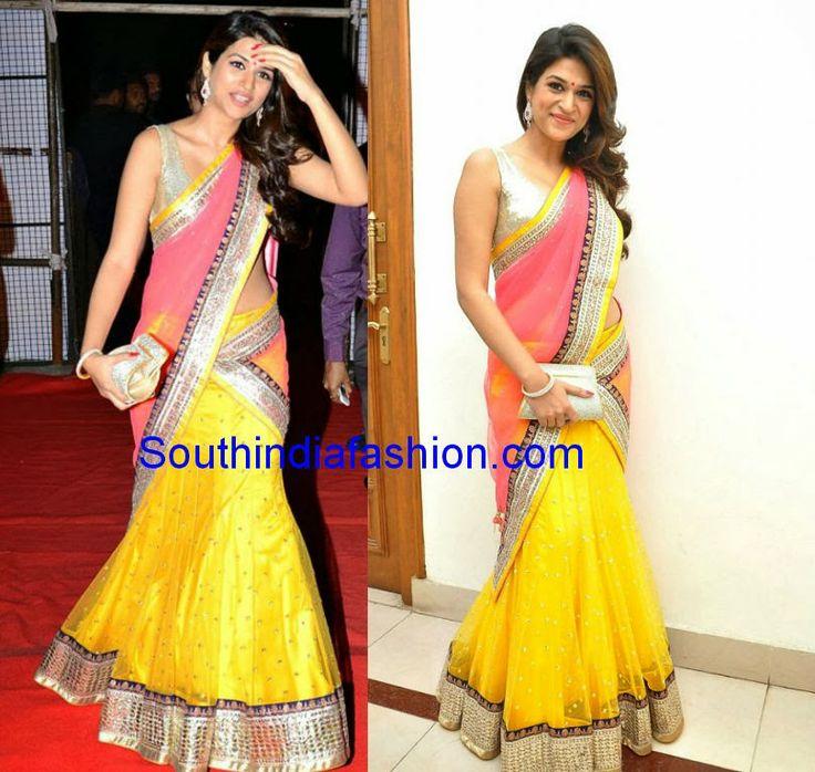 Celebrity Sarees, Designer Sarees, Bridal Sarees, Latest Blouse Designs