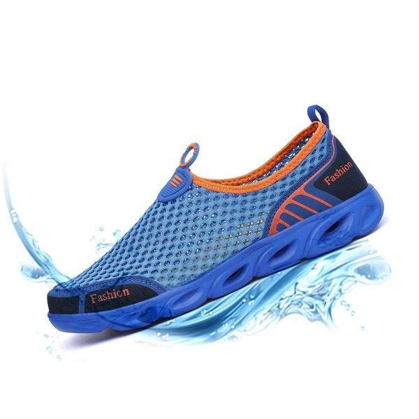 Mens Water Shoes Lightweight Quick Dry Sports Aqua Shoes - Blue -  C817YRKNAO4 | Water shoes for men, Water shoes, Aqua shoes