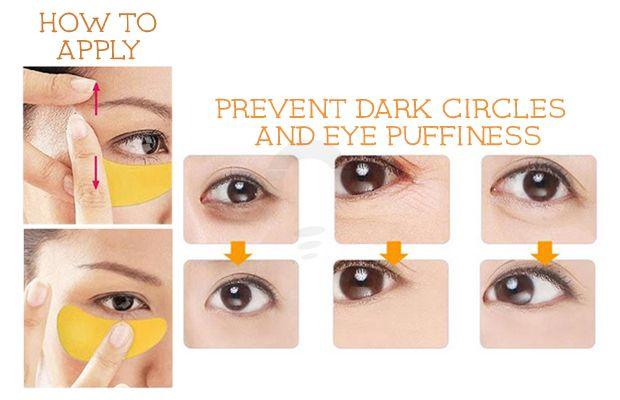 Mond Sub Gold Eye Mask Menghilangkan kantung mata serta lingkaran hitam yang berada di sekitar area mata karena kurang tidur. Rp 25.000
