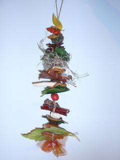 Herfst-slinger. - Gerepind door www.gezinspiratie.nl #knutselspiratie #knutselen #creatief #kind #kinderen #kids #leuk #DIY