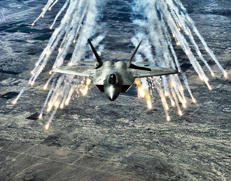 F-22 Raptor Flares