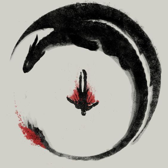 Earn A Dragon's Loyalty, Calligraphy Artist Unknown