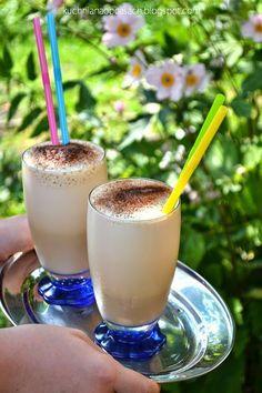 Waniliowa kawa mrożona z pianką (ekspresowa)