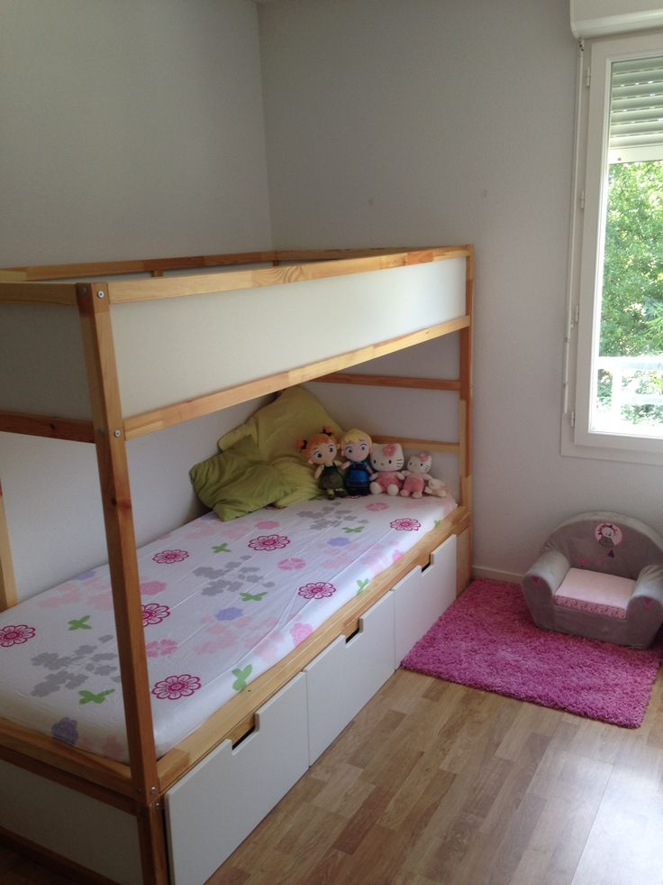 I would like thisIkea hack kura bed done to my son's room