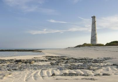 Lighthouse on Medjumbe Private Island. Visit our website at www.raniresorts.com