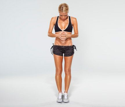 Gwyneth Paltrow's Arm and Ab Moves - hmmm does she really do this? Meh, doesn't hurt to try