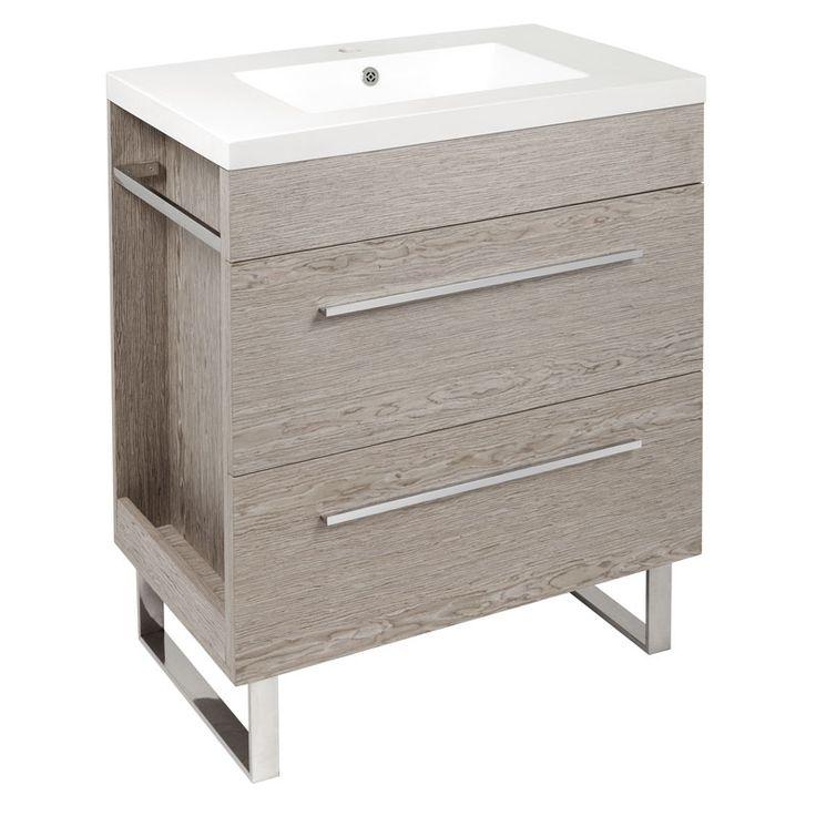 Timber Veneer Vanity Unit | Stratco