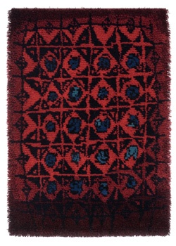 Palokärki, Kirsti Ilvessalo, 1952. For some day whan I have time to make a rug.
