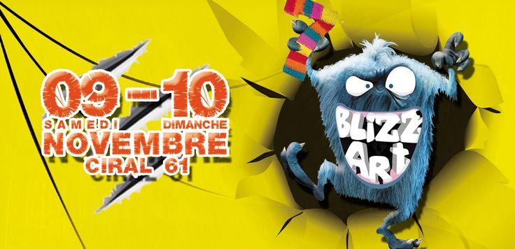7e édition du festival BLIZZ'ART. Du 9 au 10 novembre 2013 à Ciral.