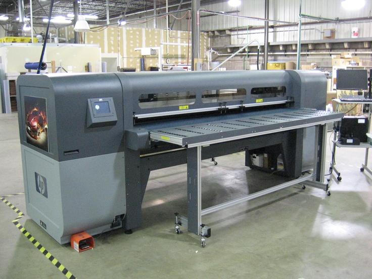 "Pepperdines new HP Scitex FB700 is a 98"" wide, six color UV digital grand format press prints on rigid and roll media."