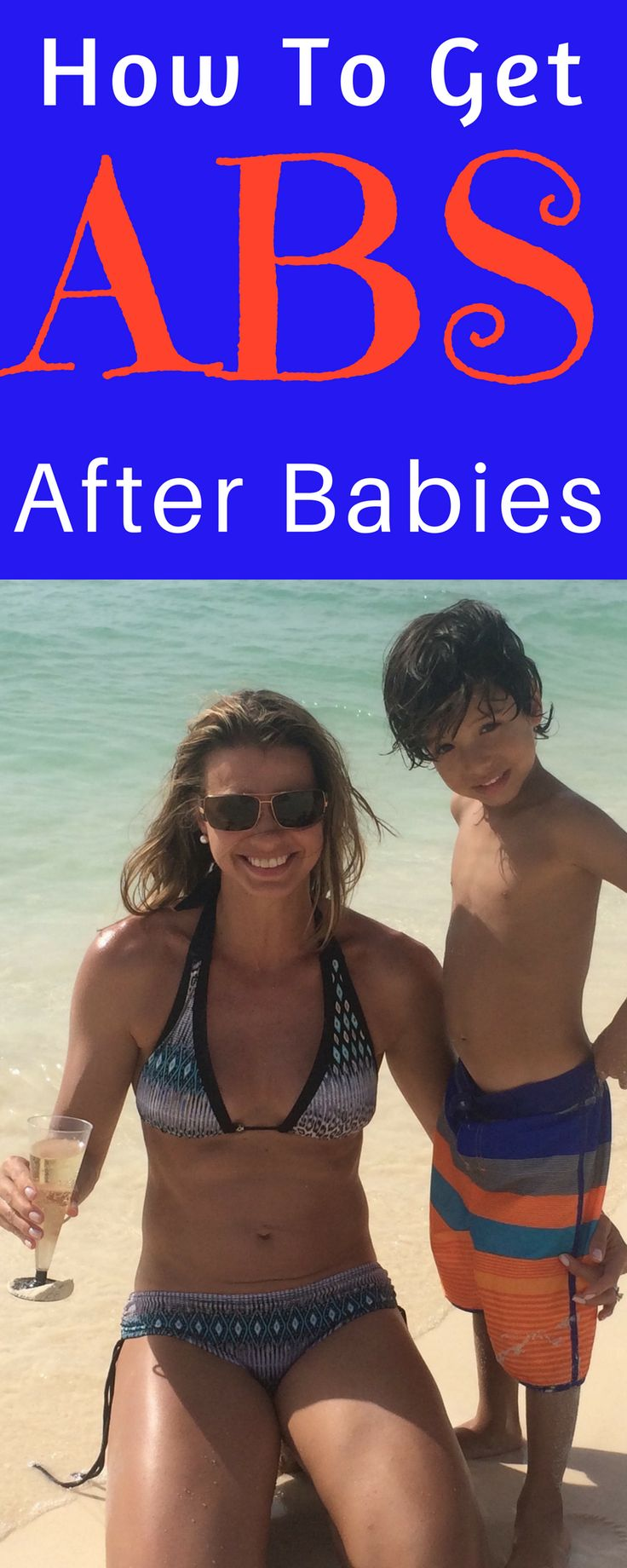 How To Get ABS after babies.  This Fit Momma shows you all the secrets how.  Lots of workouts included.