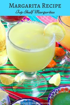 Margarita Recipe made in the Vitamix