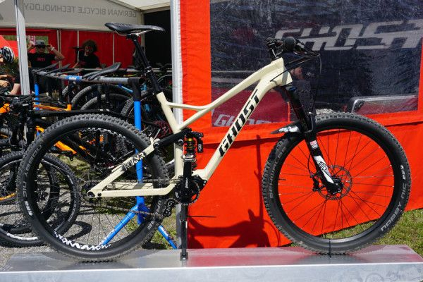 2016 Ghost RO-AMR overland adventure full suspension mountain bike