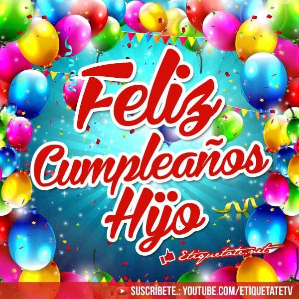 Saludos para Cumpleaños para un Hijo con imágenes divertidas VER EN http  etiquetate net