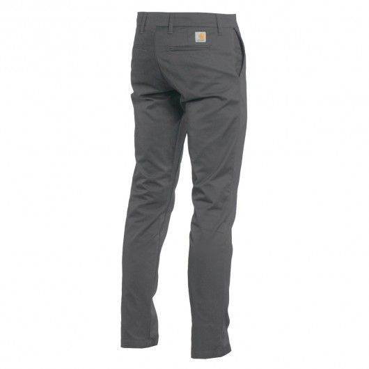 CARHARTT Sid Pant Blacksmith rinsed pantalon chino Lamar stretch super slim fit 89,00 € #skate #skateboard #skateboarding #streetshop #skateshop @playskateshop