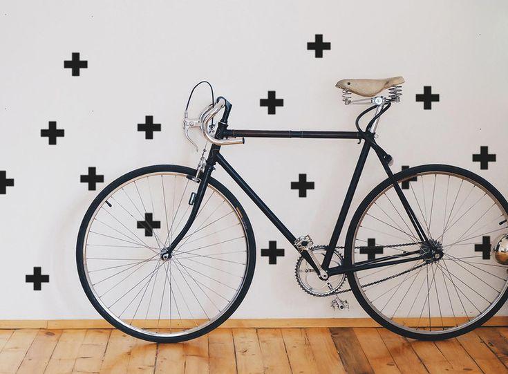 Cross Wandsticker Kreuze | Pluszeichen Sticker - ein Designerstück von UrbanARTBerlin bei DaWanda