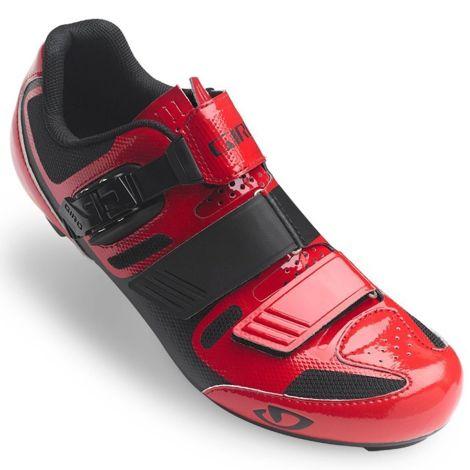 Giro Shoes Giro Apeckx II Road Cycling Shoes - Bright Red / Black