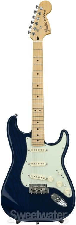 Fender Deluxe Stratocaster - Sapphire Blue Transparent with Maple Fingerboard image 2