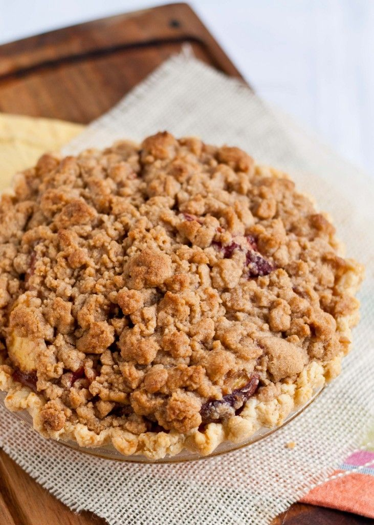 The Peach Crumb Pie that made a grown man (and a stranger!) cry.