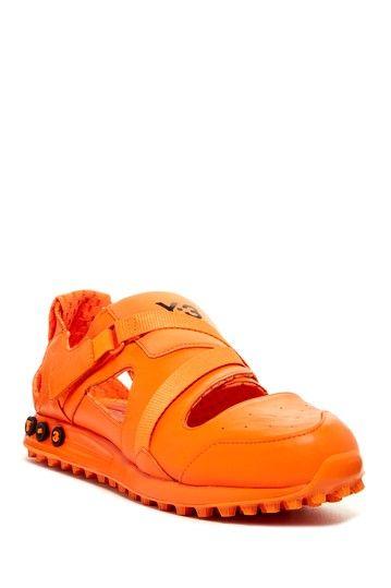 adidas Y-3 Deca Sneaker: Orange