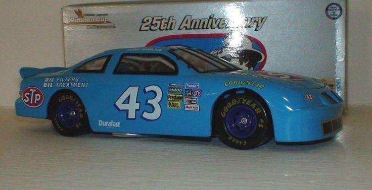 Bobby Hamilton 1972 Blue STP 25th Anniversary Richard Petty 1/24 Nascar #Action