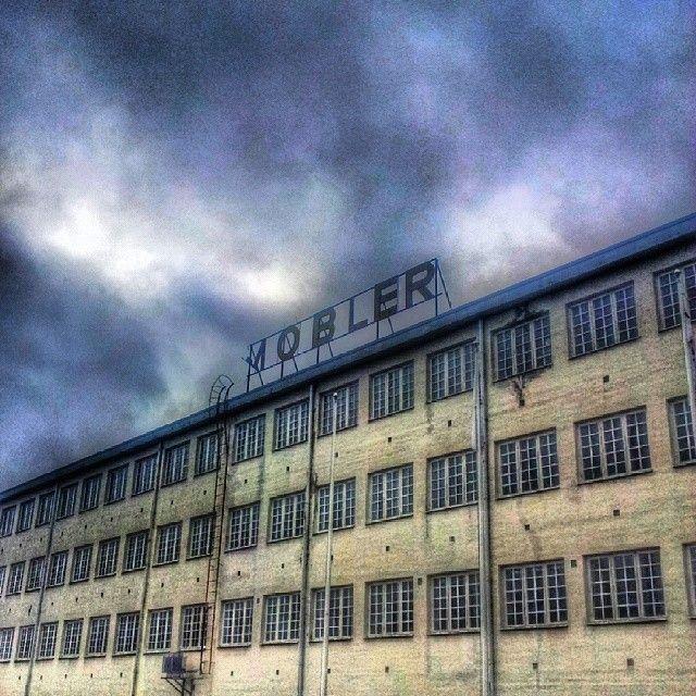 En gammal fabrik